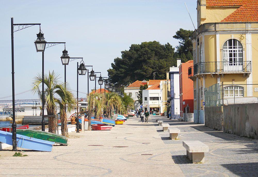 Trafaria village de pêcheurs, Belém