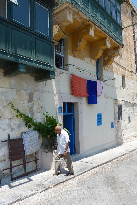malte maison pittoresque