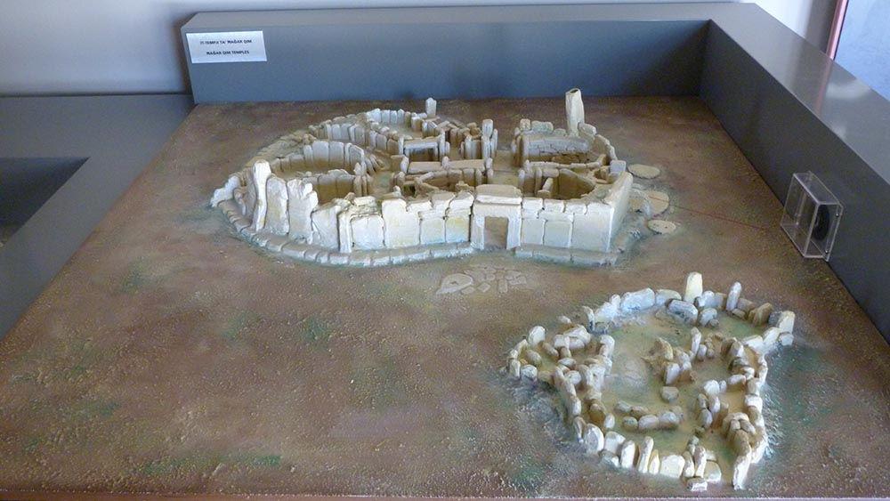 les temples de Ħaġar Qim et Mnajdra
