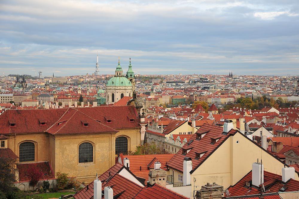 Prague vue sur la ville
