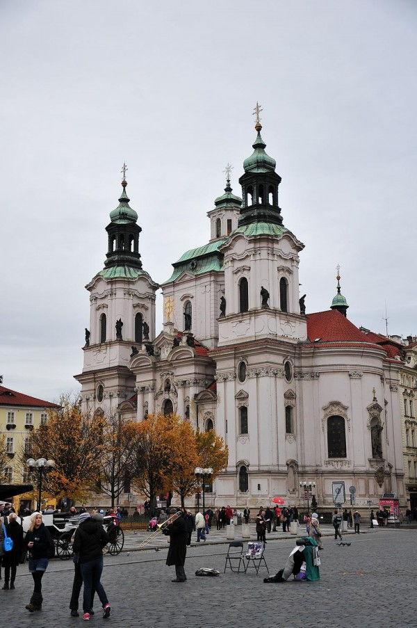 église st nicolas prague