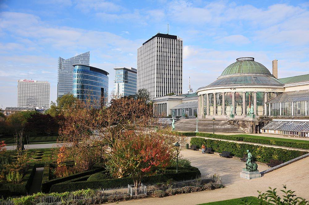 « Bruxelles possède deux merveilles uniques au monde : la Grand Place et le panorama du Jardin Botanique » Victor Hugo