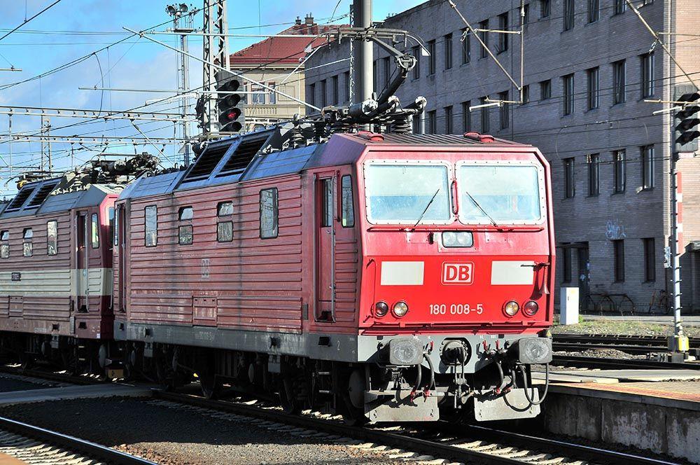train prague
