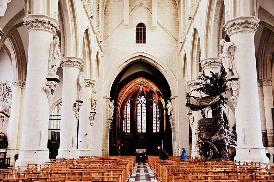 église marolles, bruxelles