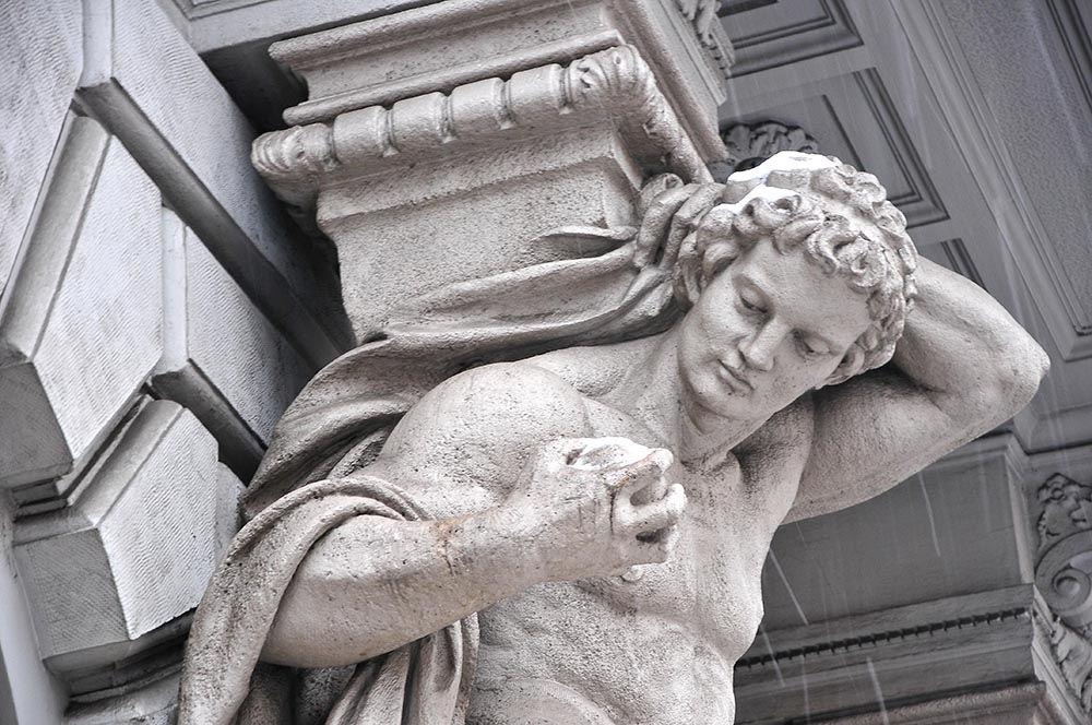 Les magnifiques façades de l'avenue Andrassy...
