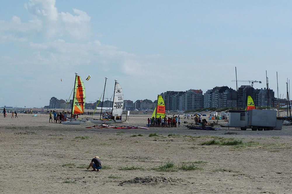 Zeebruges plage