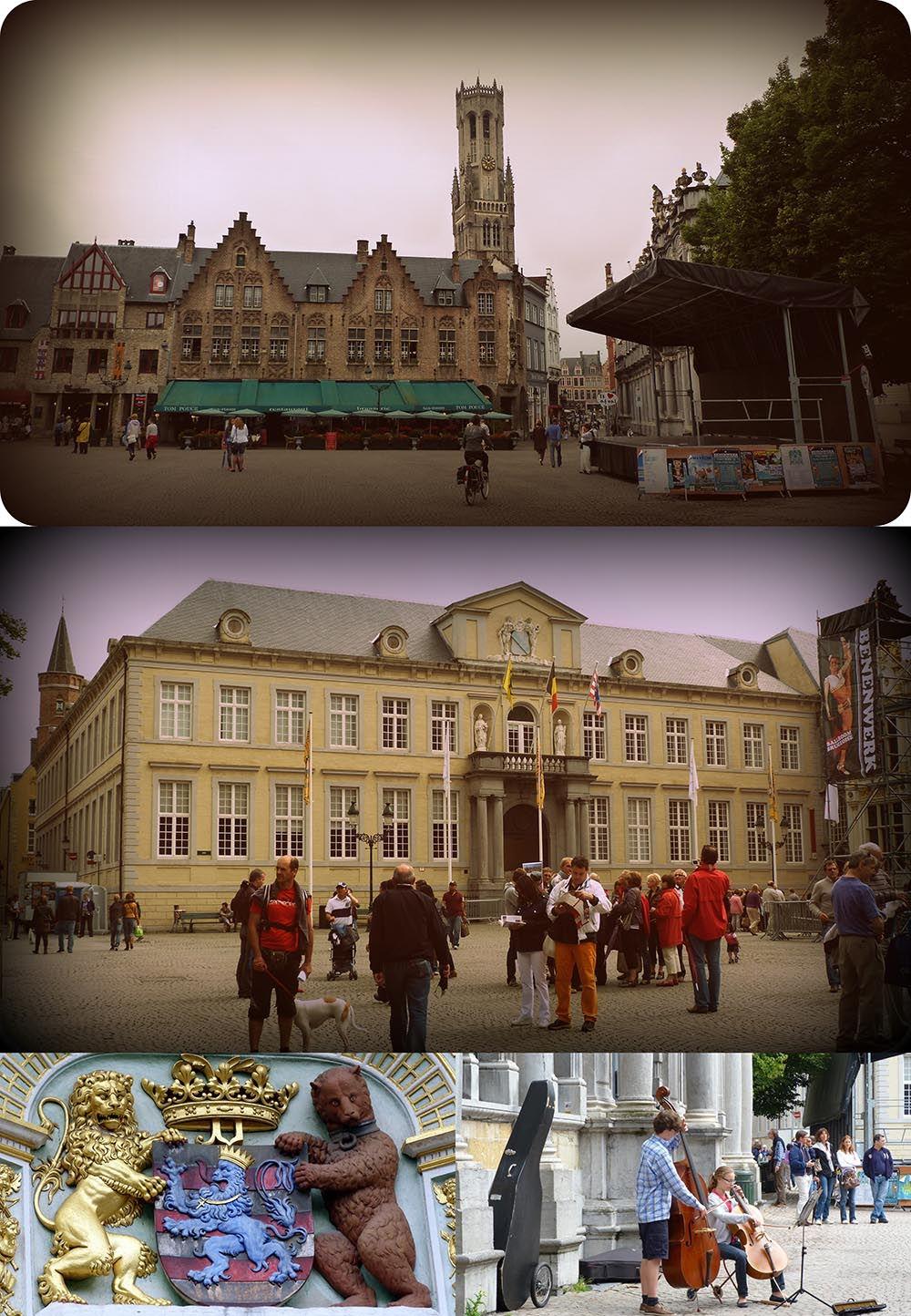 place bourg Bruges, Belgique