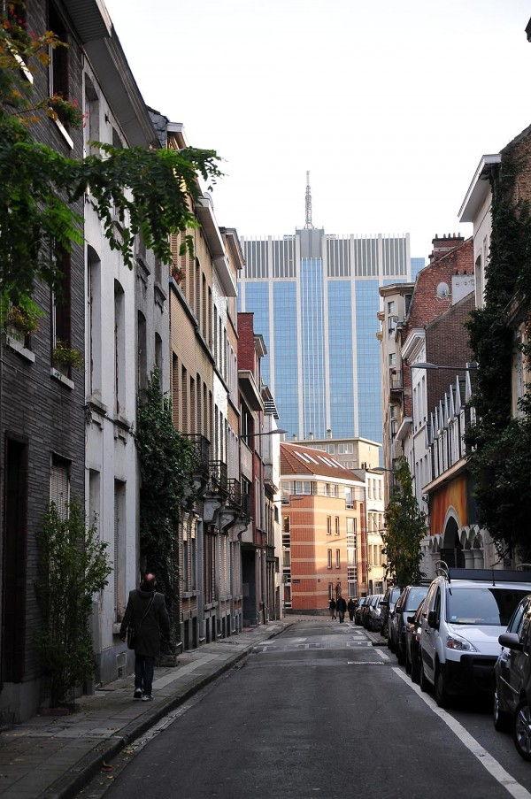 Bruxelles quartier des affaires