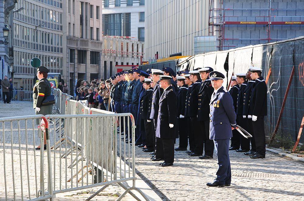 Bruxelles commémorations du 11 novembre