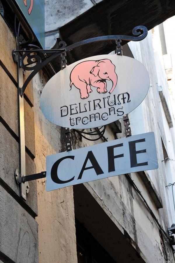 impasse de la fidélité, Delirium Café