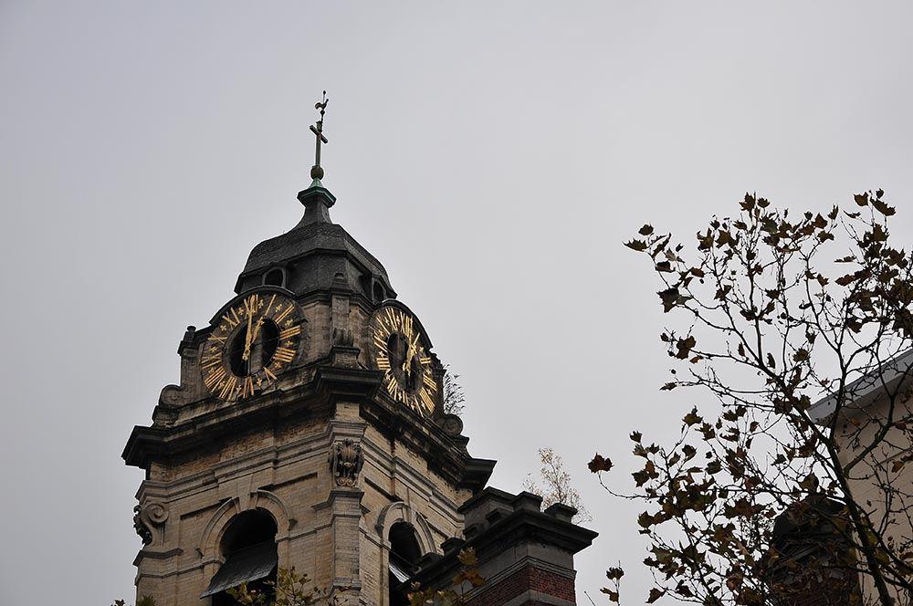 La Tour Noire, impressionnant vestige de l'époque portuaire et de la première enceinte de Bruxelles...