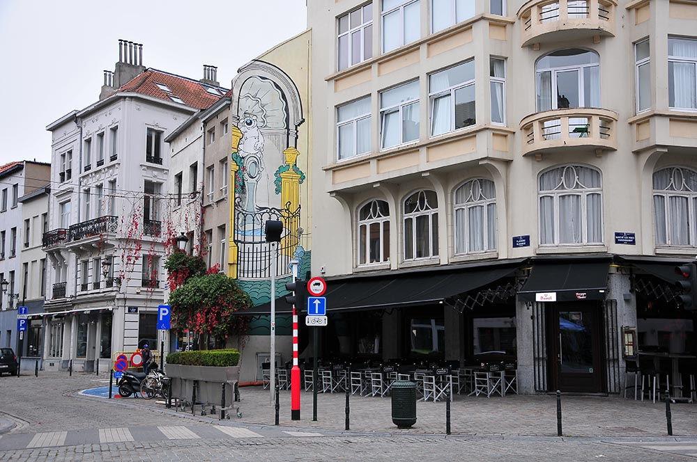 rues quartier sainte-Catherine Bruxelles