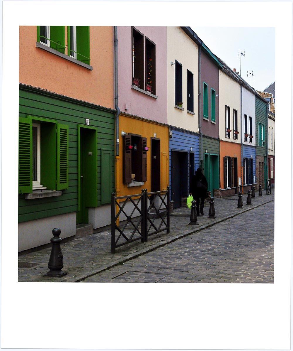 maisons colorées st leu amiens