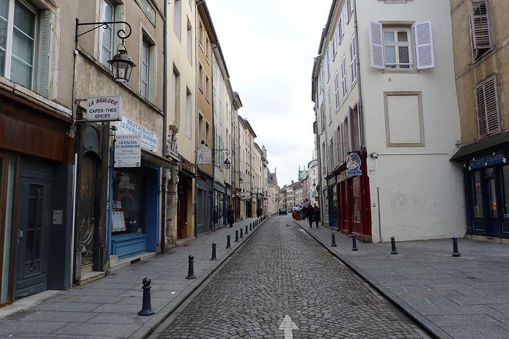 centre ville historique nancy