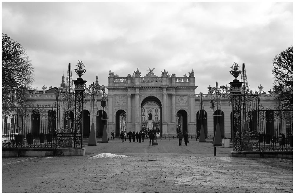 entrée place Stanislas Nancy