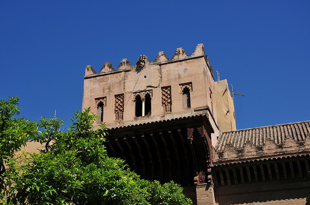 Séville Espagne Alcazar