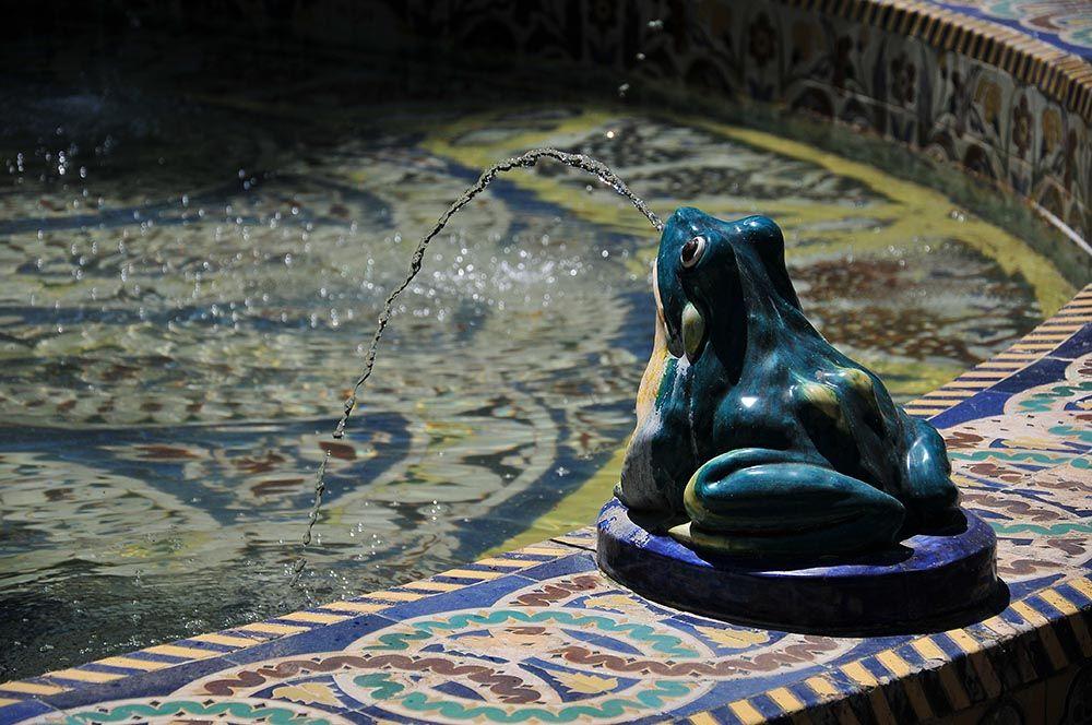 La prédilection andalouse pour les fontaines, un autre héritage maure...
