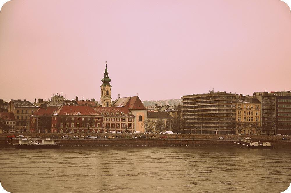 Rivages du Danube à Budapest
