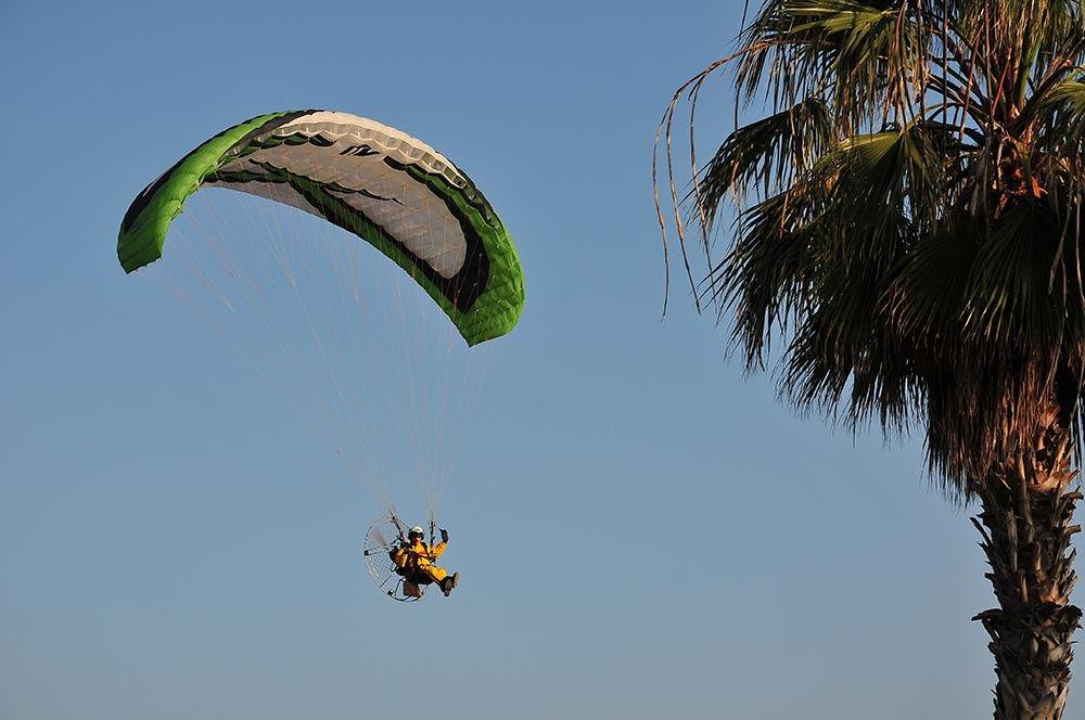 Malaga parachutiste