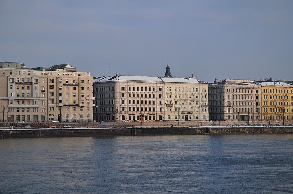 rives du Danube à Budapest