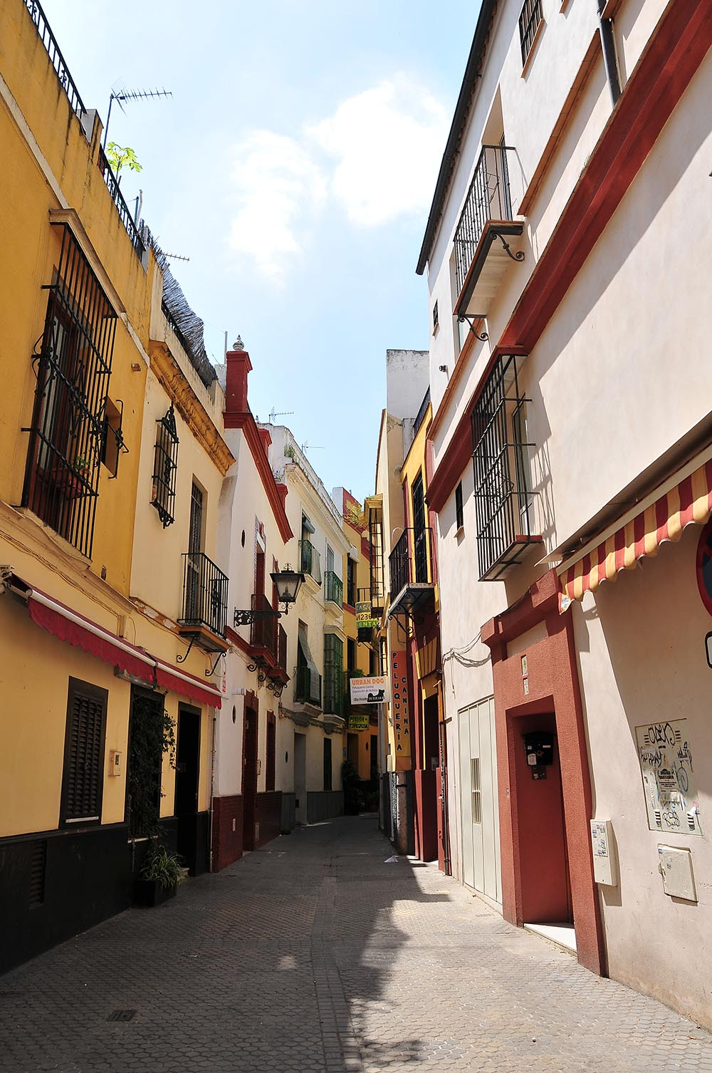 ruelles de Séville, Andalousie