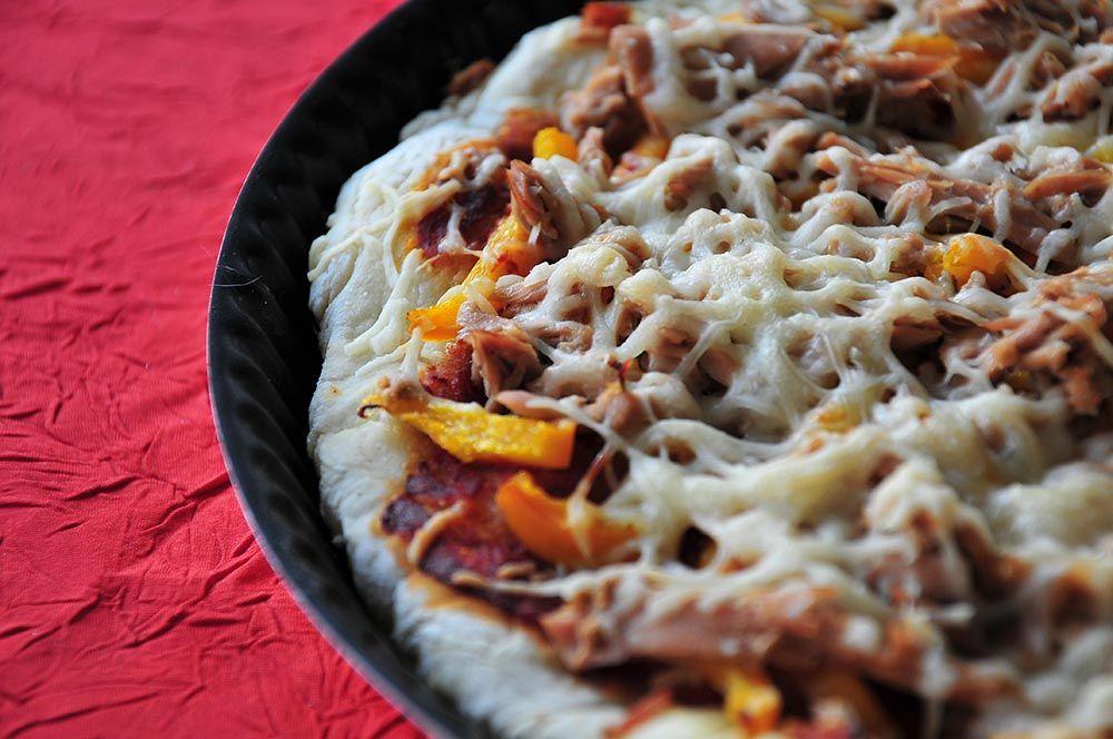 pizza poivrons thon