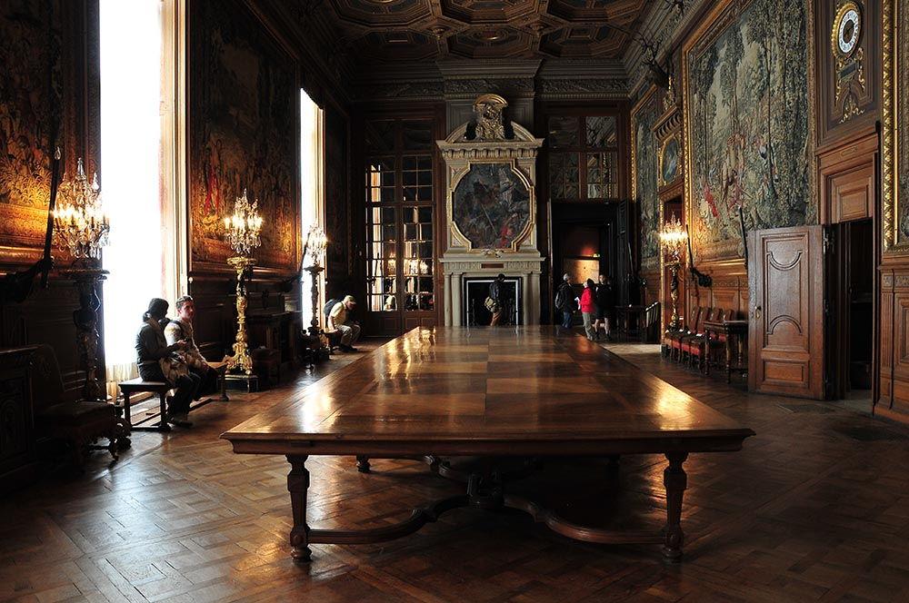 salle musée Condé Chantilly