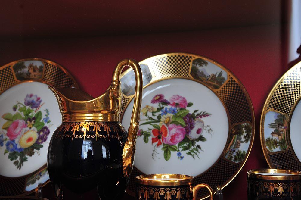vaisselle musée Condé château de Chantilly