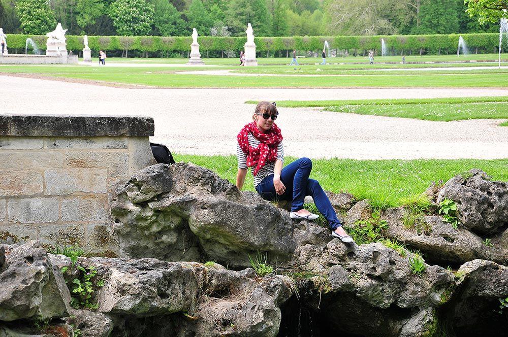 jardins château chantilly
