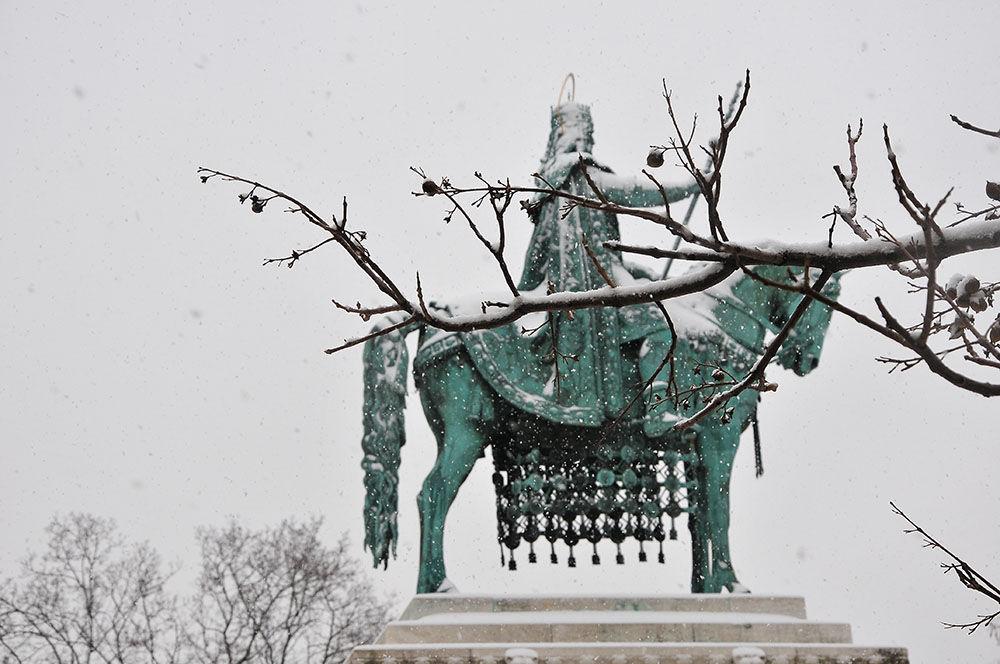 Bastion des Pêcheurs Budapest Etienne 1er