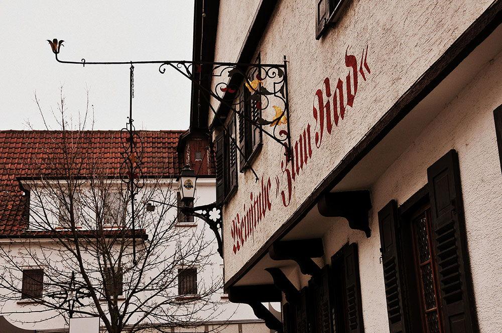 Metzingen centre-ville historique