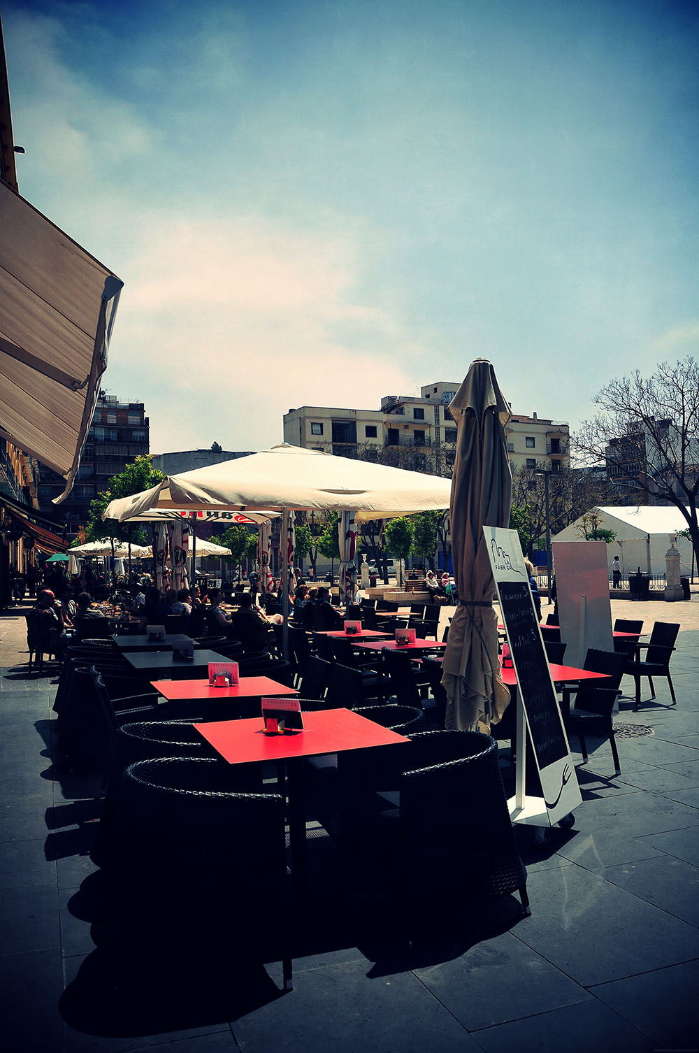 Place de la Merced Malaga
