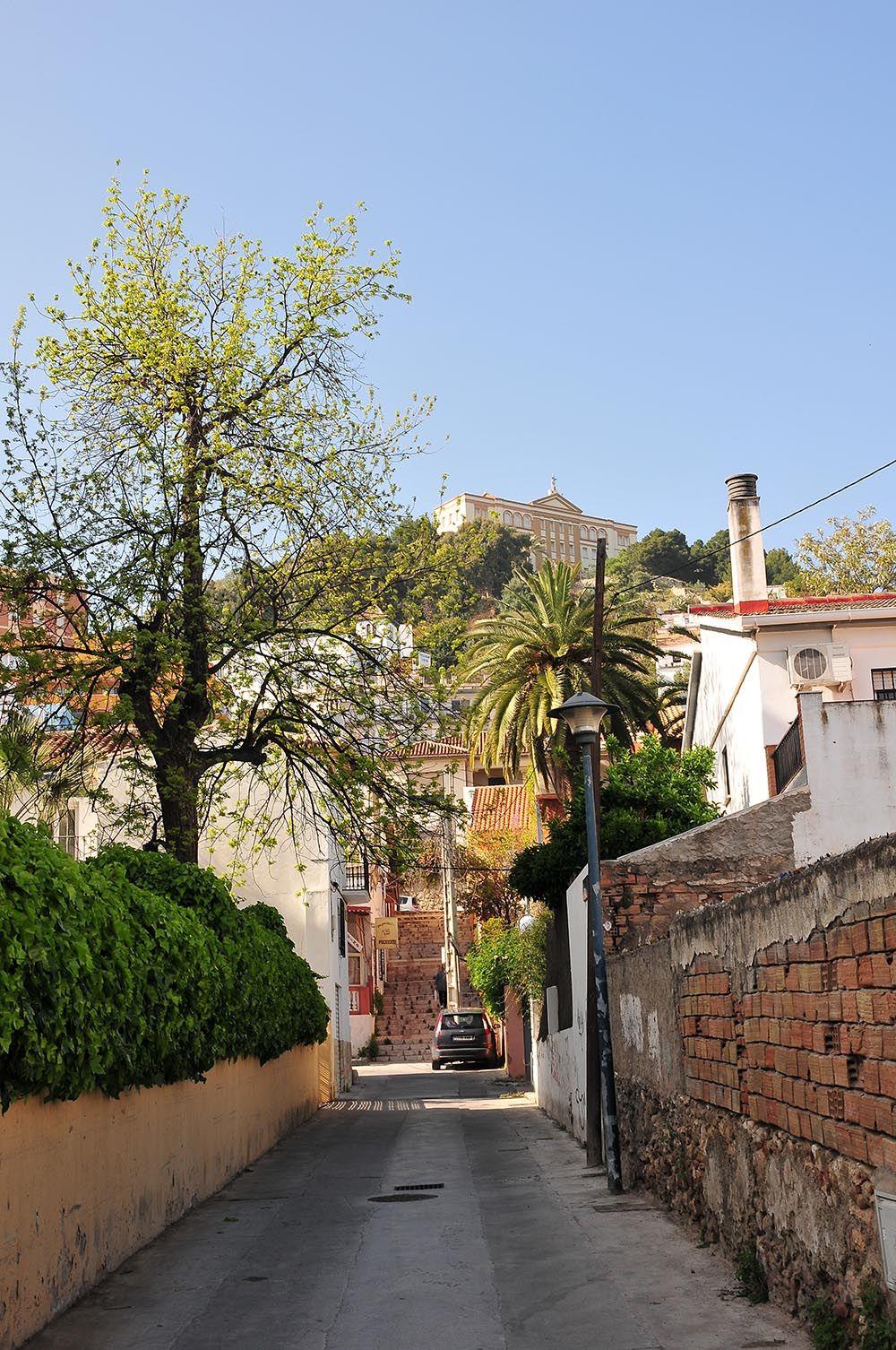 quartier aux abords du bord de mer Malaga
