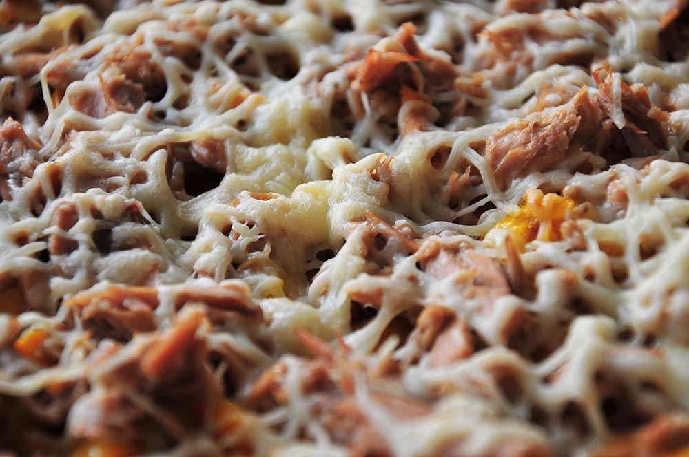pizza thon poivrons