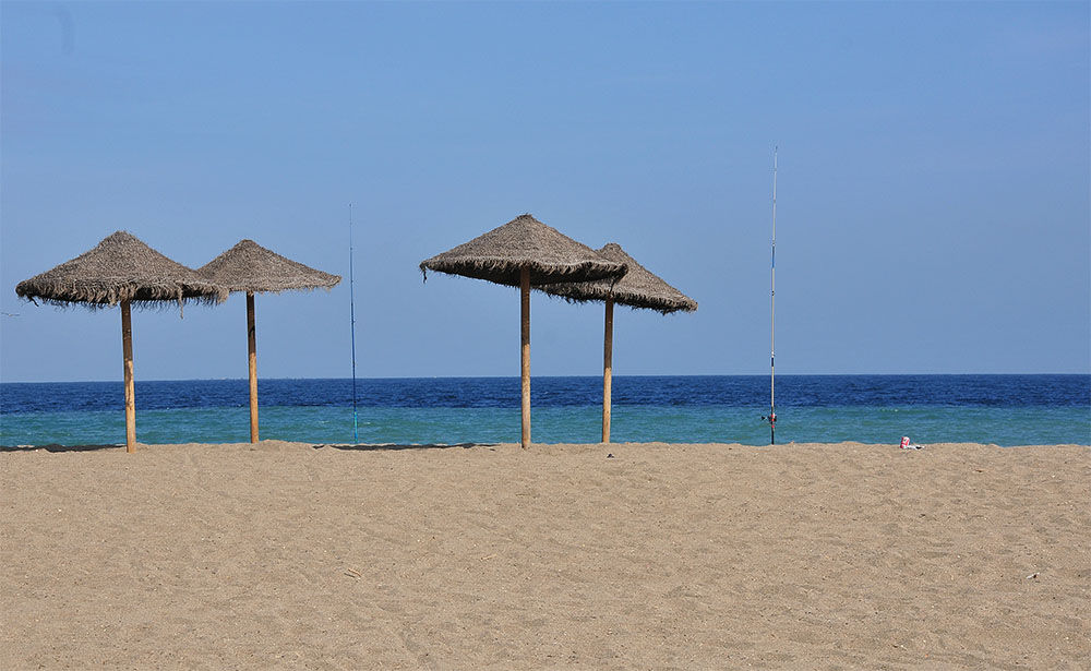 A quelques pas de la Marina, au centre de Málaga…