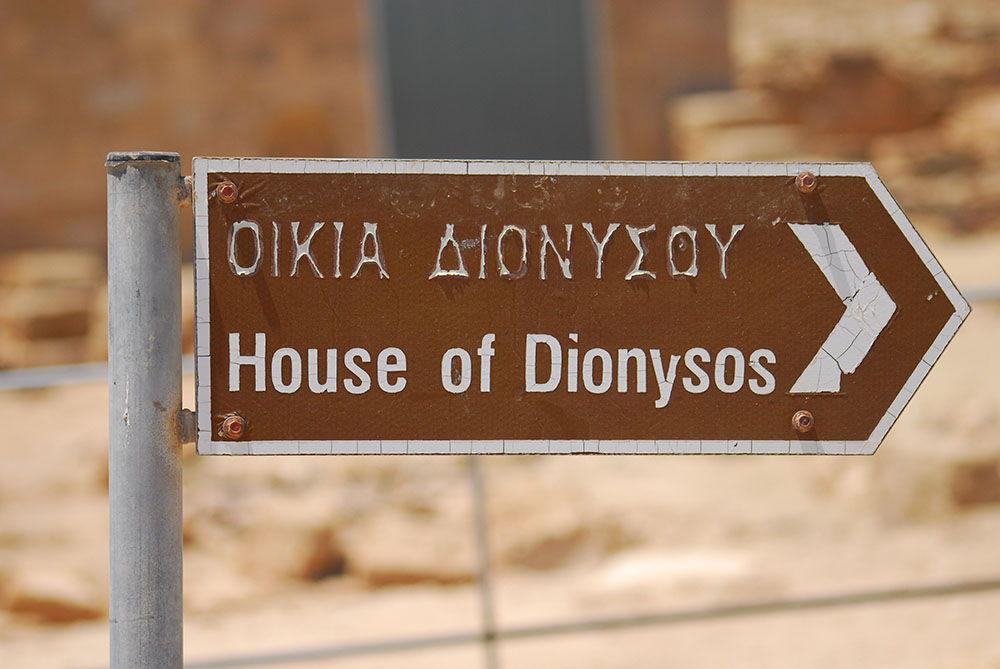 site archéologique paphos maison de dyonisos