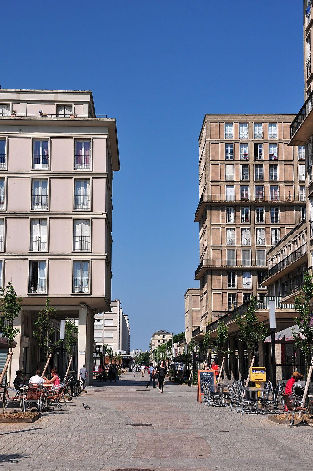 rues perret le Havre