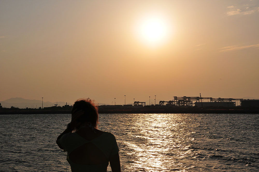 coucher de soleil Cagliari