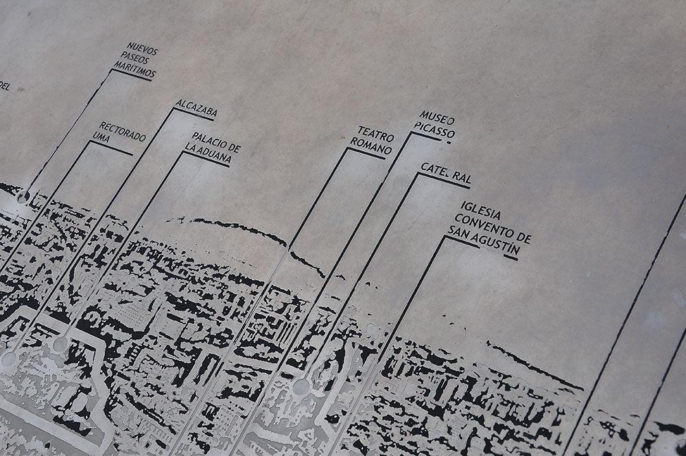 Le château de Málaga : El Castillo de Gibralfaro