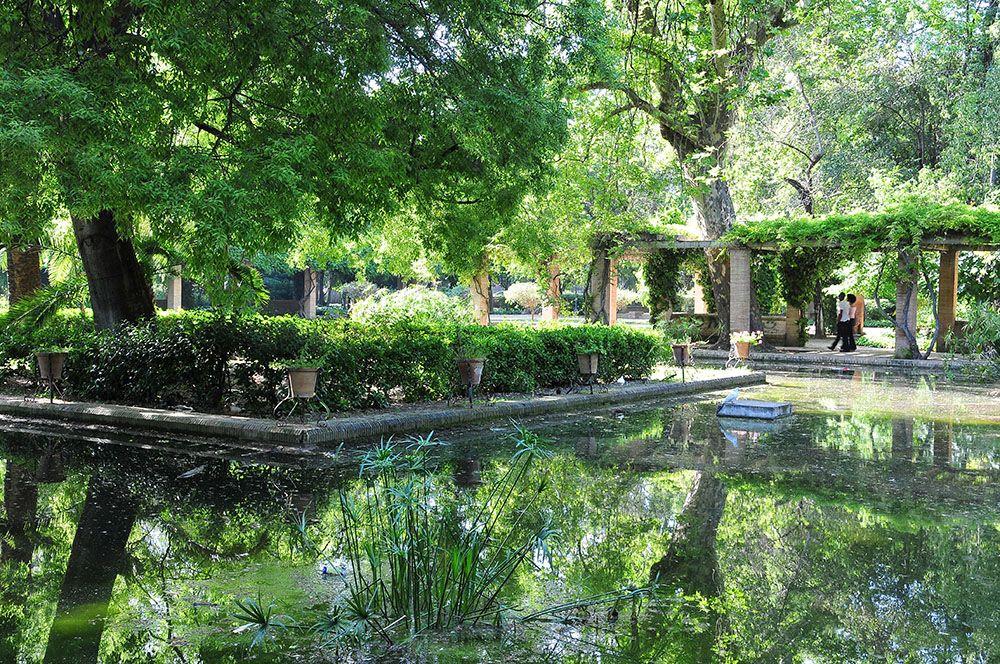 parc maria luisa Séville