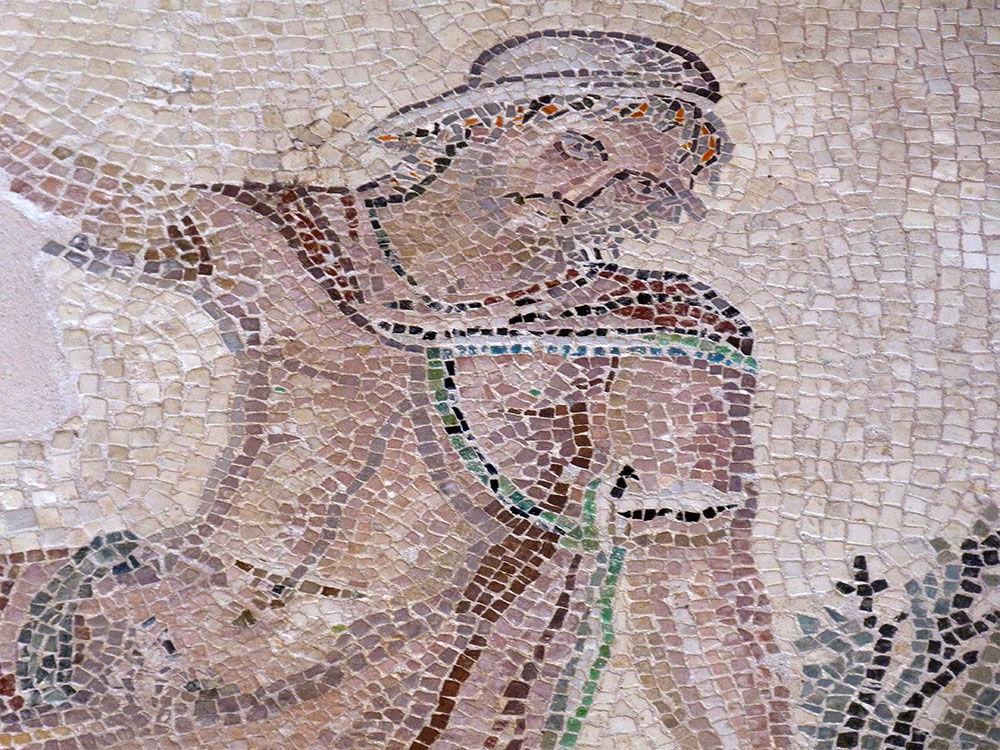 mosaïques maison de dyonisos, site archéologique, paphos