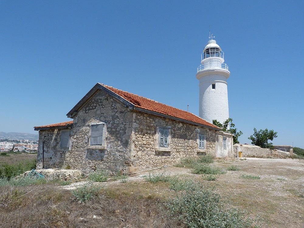 phare paphos chypre