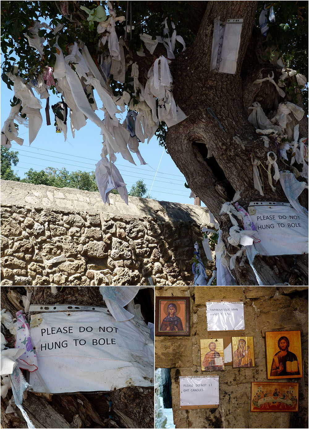 catacombes paphos d'Agia Solomoni