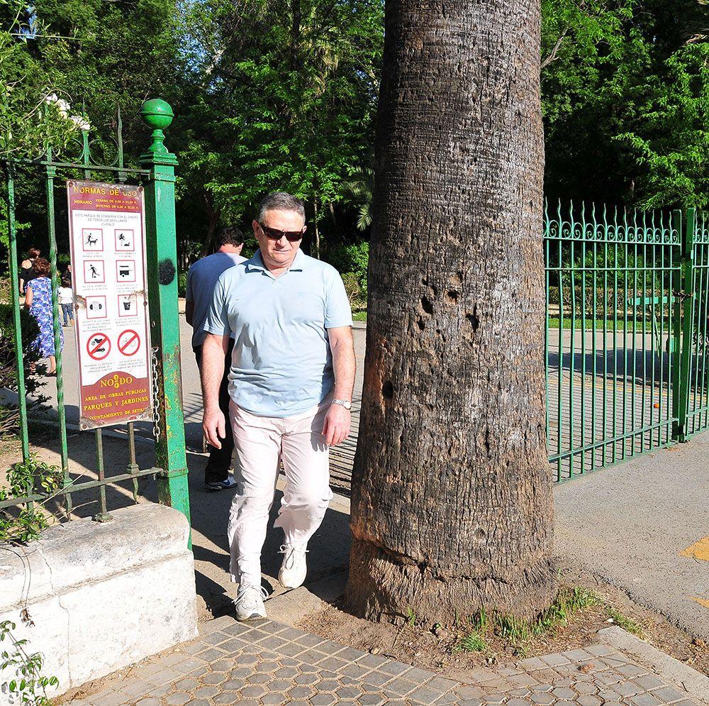 entrée parc