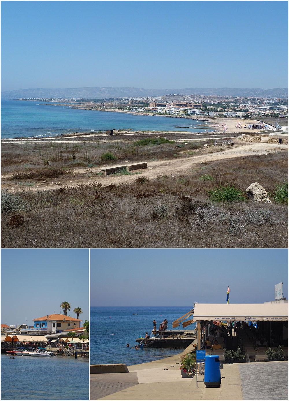 paphos bord de mer, Chypre