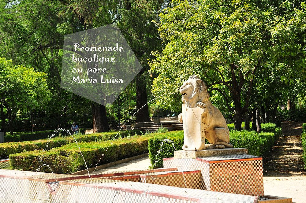 parc María Luisa, Séville