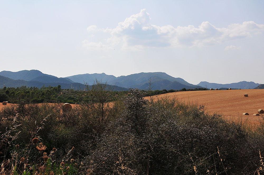 route Cagliari-Chia, Sardaigne