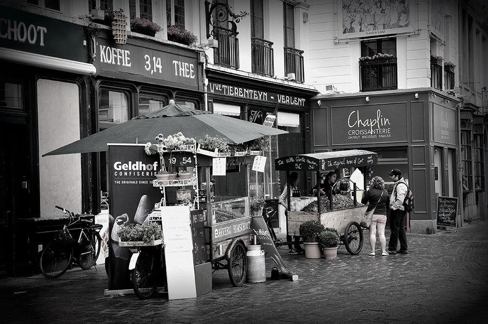 centre-ville, Gand, Belgique