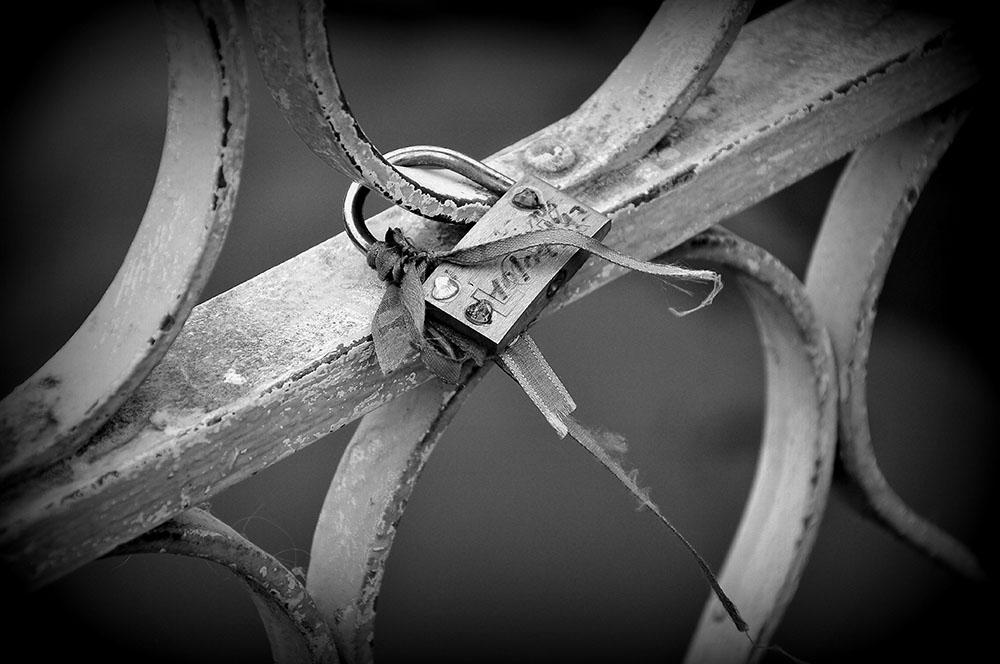 pont Gand, cadenas