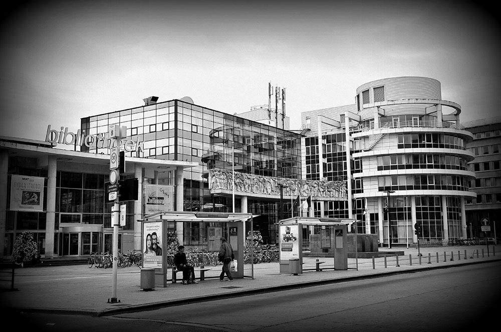 bibliothèque Gand, moderne